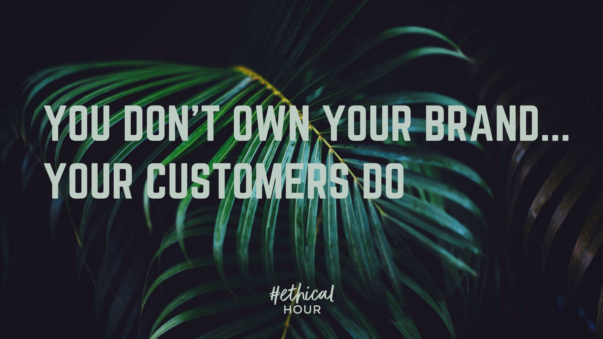 building a brand quote